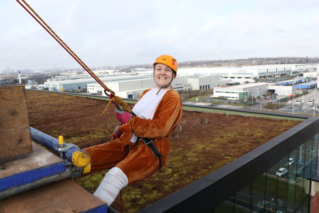 Fancy Dress for the abseil Charity Abseil Photographer