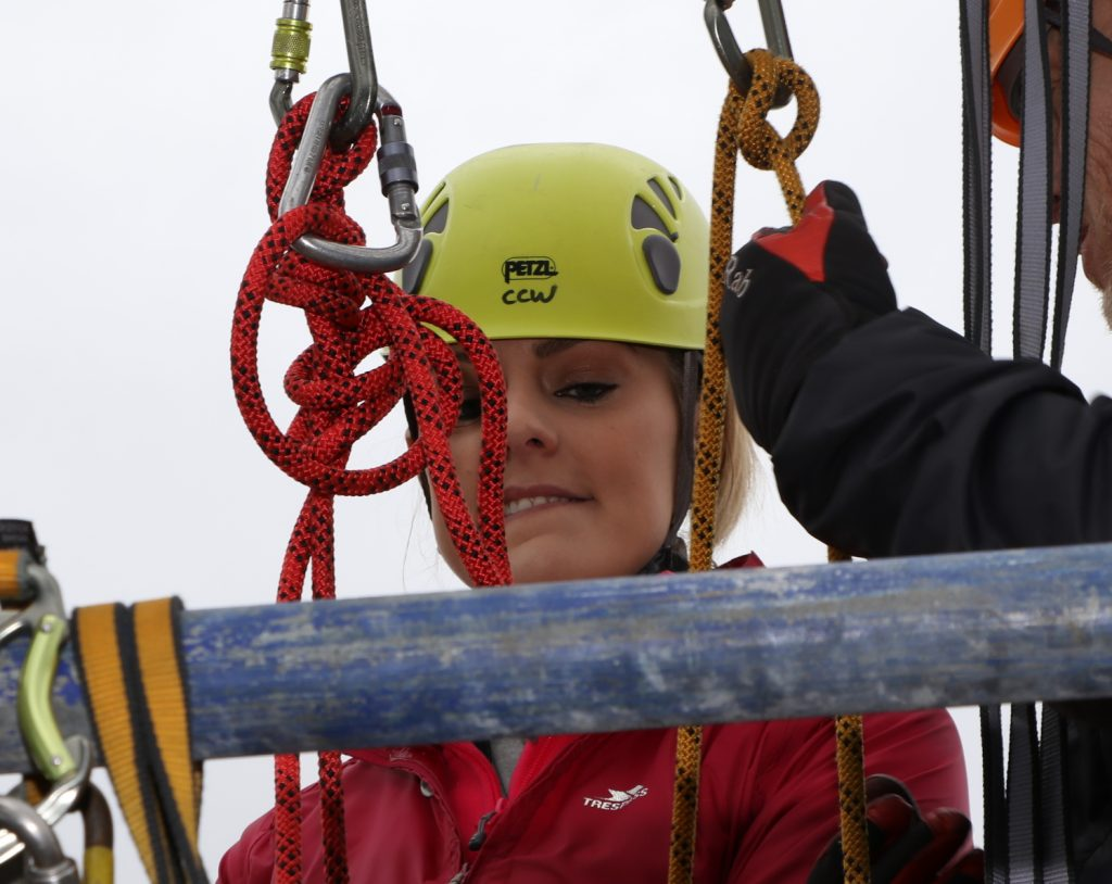 Nervous? Charity Abseil Photographer